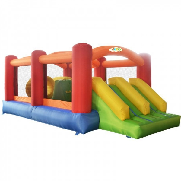 Extreme Inflatable Water Slide For Sale: Outdoor Inflatable Bouncer Obstacle Games With Nylon For