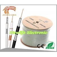 China 75ohm RG6 Coaxial Cable CCS/60% Coverage 1000FT wholesale