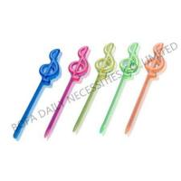 Buy cheap Cocktail stick & toothpick Music plastic cocktail pick from wholesalers