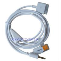 China for apple iphone 4 4s, for ipod car AUX audio cable/cord wholesale