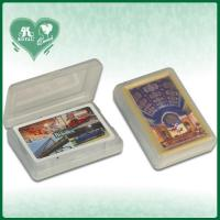China Gift PP Material Plastic Playing Cards Box on sale
