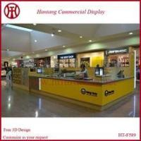 China Custom crepe kiosk in mall with led lights wholesale