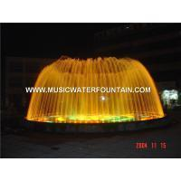 Classic Static Garden Water Fountains , Modern Water Fountains With Led Lighting