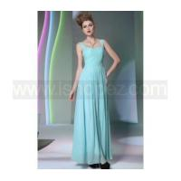 China A line floor-length changeable silk prom dress & new fashion quinceanera dress wholesale