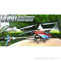 China RC Helicopter NEW 3-Channels Double Horse 9060 Electric RC Helicopter RTF w/ LED LIGHTS BALANC on sale