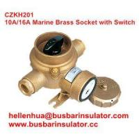 China 10A/16A marine brasswaterproof rotary switch outlet CZKH201 IP56 on sale