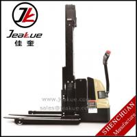 China 1.2T Staddle full electric stacker wholesale