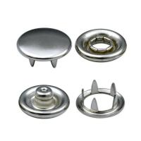 China Snap Fasteners High Quality Brass Made Capped Snap Buttons on sale
