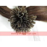 Buy cheap Product: 100% Real Human virgin hair,hair color i tip from wholesalers