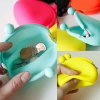 China wallet&bag BPA Free Silicone coin purse wholesale