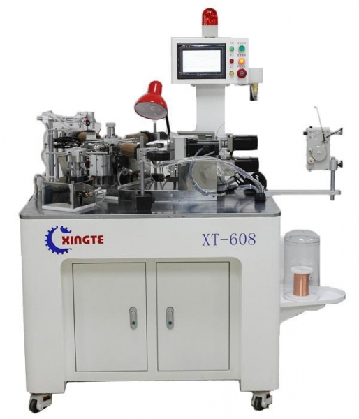 Quality XT-608 Full-automatic Six-axis Voice Coil (Bobbin) Winding Machine for sale