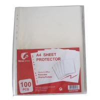 China Clear Economy TOP-loading Sheet Protectors wholesale