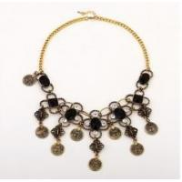 China Crazy hot necklace vintage alloy flower necklace fashion jewelry for women wholesale