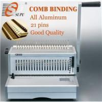 Buy cheap manual metal A4 plastic Comb binding Machine (CB300) from wholesalers