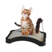 Buy cheap Kitty Scratcher with Play Tail Toy and Cat Nip from wholesalers