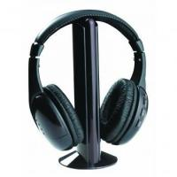Buy cheap Wireless 5 in 1 Monitoring Headphones with FM Radio from wholesalers