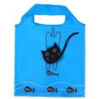 China Cat Shape Foldable Polyester Shopping Bags wholesale
