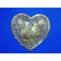 China Golden flowers the bottom paper heart-shaped wholesale