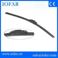 China Universal flat wiper blade with BoschIItype on sale