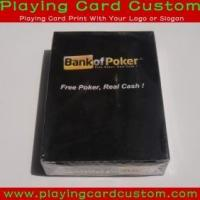 China custom kem plastic playing cards on sale