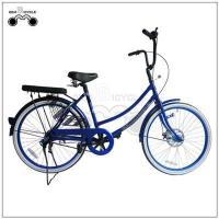 24inch single speed colorful lady`s city bicycle