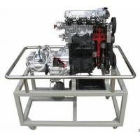 Auto engine with transmission dissection trainer