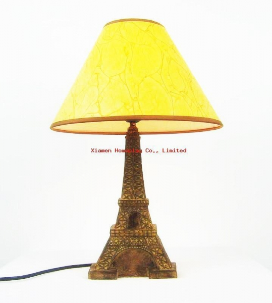 quality resin eiffel tower table lamp for sale. Black Bedroom Furniture Sets. Home Design Ideas