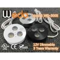 WD-300A 12V 3W LED Cabinet Light / LED Puck Light with CE cUL UL Certified