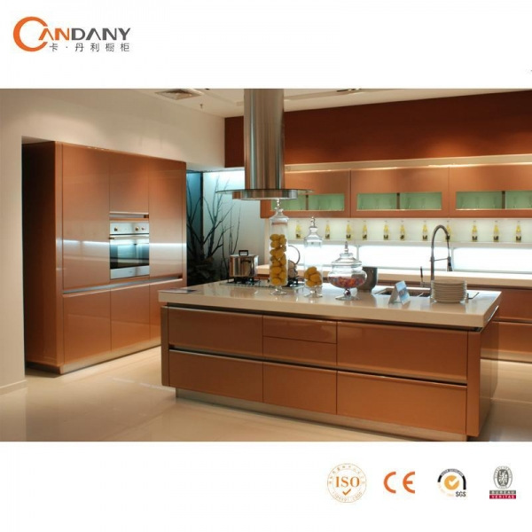 Acrylic Series High Glossy Lacquer Kitchen Cabinet High