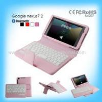 China High Ending Detachable Wireless Bluetooth Keyboard for Google Nexus 7 2 wholesale