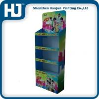 China Promotional Cookies Cardboard pallet displays,POP Paper displays wholesale