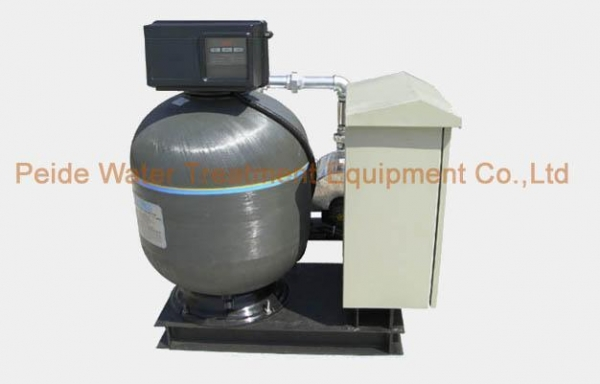 Automatic Fiberglass Swimming Pool Sand Filter Of China Uvsterilizer