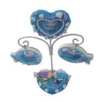 Buy cheap Polyresin Solar Lamp Photo Frame Decoration from wholesalers