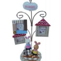 Buy cheap Polyresin Solar Lamp Poly Resin Photo Frame from wholesalers