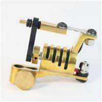 Buy cheap Tattoo Machines New Arrivals New Designer Copper Tone Rotary Tattoo Machine JL-093 from wholesalers
