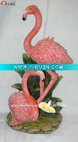 China Artificial Crafts(970) Polyresin flamingo. on sale
