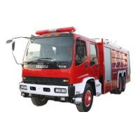 China Isuzu water tanker fire fighting truck 12000liter on sale