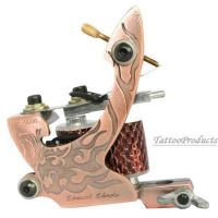 China New Professional Handmade Tattoo Machine Gun 10 Wrap Coils For Shader Supply wholesale