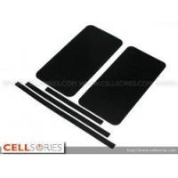 China Cases Black Color Leather Pattern Skin Full Body Sticker for Apple iPhone 4 wholesale