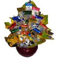 China Gourmet Gold Candy Bouquet wholesale