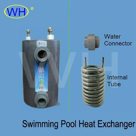 Heat exchanger for swimming pool heat pump of 169call - Homemade swimming pool heat exchanger ...