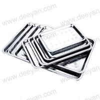 China Serving Tray Stainless Steel Platter wholesale