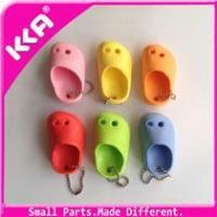 China 2014 Silver color mini shoe key chain in shoe decorations wholesale