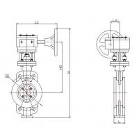 China 650D-Hard-sealing Butterfly Valves wholesale