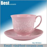 China Ceramic cup&saucer ceramic espresso cup and saucer wholesale