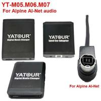 China YT-M05.06.07 for aftermarket Car audio Yatour iPod/USB Car audio player for Alpine(YT-AINET) wholesale