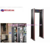 China Airport security body scanner archway metal detector gate with remote controller on sale