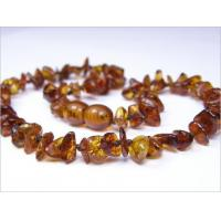 China Amber for Teething Cognac Amber Baby Necklace on sale
