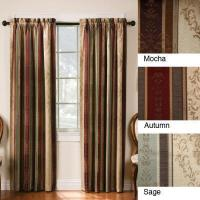 China Thermal Backed Tuscan Blackout Curtain Panel Set wholesale