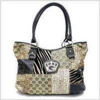 China Handbags Signature Print Fashion Bag (Brown) wholesale
